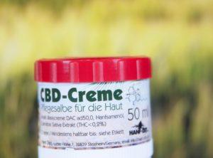 Hanf-Zeit – CBD Creme | 50 ml <br>CBD Creme, 50 mg CBD