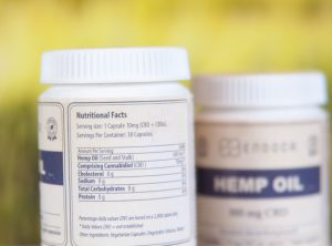 Endoca – Hemp Oil Capsule | 30 stk <br>CBD Kapseln, 300 mg CBD