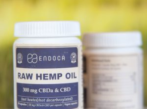 Endoca – Raw Hemp Oil Capsule | 30 stk <br>CBD Kapseln, 300 mg CBD/CBDa