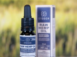Endoca – Raw Hemp Oil 3% | 10 ml <br>CBD Öl, 300 mg CBD/CBDa