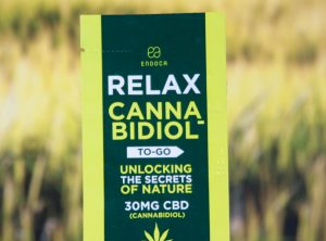 Endoca – Relax ToGo | 1 ml <br>CBD Öl, 30 mg CBD