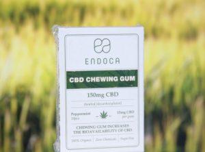 Endoca – CBD Chewingum | 10 Stück <br>CBD Kaugummi, 150 mg CBD