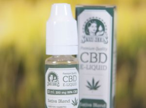 Sensi Seeds – CBD Liquid | 10 ml <br>CBD E-Liquid, 200 mg CBD