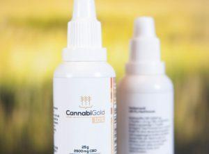 CannabiGold – CBD Öl 10% <br>CBD Öl, 25 g, 2500 mg CBD