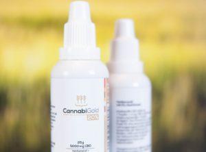 CannabiGold – CBD Öl 20% | 25 g <br>CBD Öl, 5000 mg CBD