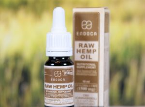 Endoca – Raw Hemp Oil 15% | 10 ml <br>  CBD Öl, 1500 mg CBD