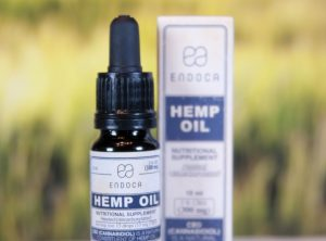 Endoca – Hemp Oil 3% | 10.00 ml <br>  CBD Öl, 300 mg CBD