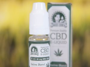 Sensi Seeds – CBD Liquid | 10 ml <br>  CBD E-Liquid, 50 mg CBD