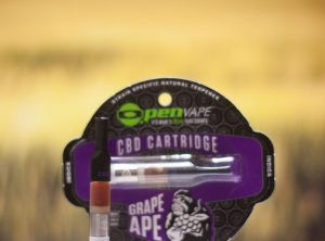 OpenVape – CBD Cartridge Grape Ape | 0,30 g <br>  Kartusche, 100 mg CBD
