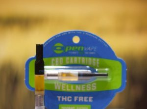 OpenVape – CBD Cartridge Wellness | 0,50 g <br>  Kartusche, 300 mg CBD