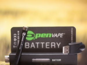 OpenVape – Battery Black  <br>  Batterie