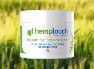 Hemptouch – Balsam für irritierte Haut | 50 ml <br>  CBD Creme