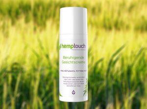 Hemptouch – Beruhigende Gesichtscreme | 50 ml <br>  CBD Creme