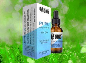 Twe Leeuven – PURE CBD-Öl | 10 ml <br>  CBD Öl, 1000 mg CBD