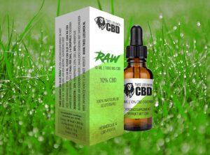 Twe Leeuven – RAW CBD-Öl | 10 ml <br>  CBD Öl, 1000 mg CBD