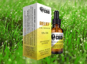 Twe Leeuven – RELIEF CBD-Öl | 10 ml <br>  CBD Öl, 1000 mg CBD
