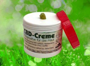 Hanf-Zeit – CBD Creme | 50 ml   CBD Creme, 50 mg CBD