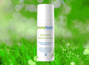 Hemptouch – Nährende Gesichtscreme | 50 ml  CBD Creme