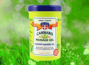 Palacio – Cannabis Kräutergel mit 5% BIO Hanföl 380ml | 380