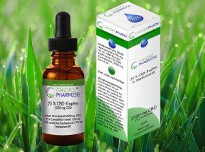 Candropharm – Candropharm250  | 10 ml CBD Öl, 2500 mg CBD
