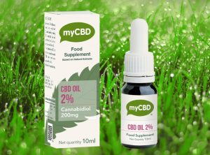 myCBD – OIL SUBLINGUAL 2%  | 10 ml <br>  CBD Öl, 200 mg CBD