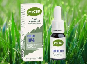 myCBD – OIL SUBLINGUAL 10% | 10 ml <br>  CBD Öl, 1000 mg CBD