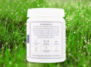 Endoca – Hemp Oil Capsule | 30 stk  CBD Kapseln, 300 mg CBD