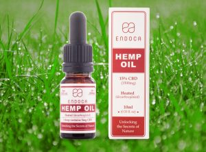 Endoca – Hemp Oil 15% | 10 ml  CBD Öl, 1500 mg CBD