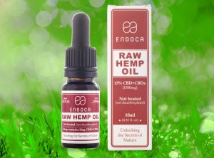 Endoca – Raw Hemp Oil 15% | 10 ml  CBD Öl, 1500 mg CBD
