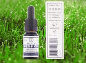 Endoca – Hemp Oil 3% | 10 ml <br>  CBD Öl, 300 mg CBD