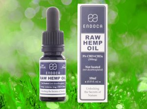 Endoca – Raw Hemp Oil 3% | 10 ml  CBD Öl, 300 mg CBD