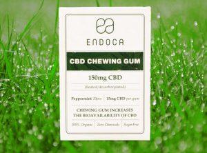 Endoca – CBD Chewingum | 10 Stück   CBD Kaugummi, 150 mg CBD