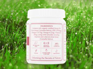 Endoca – Hemp Oil Capsule | 30 stk  CBD Kapseln, 1500 mg CBD