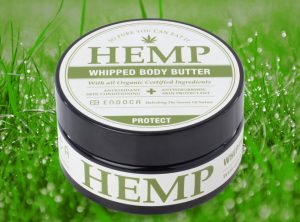 Endoca – Hemp Whipped Body Butter | 100 ml  CBD Creme, 1500 mg CBD