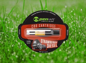 OpenVape – CBD Cartridge Strawberry Diesel | 0,30 g <br>  Kartusche, 100 mg CBD