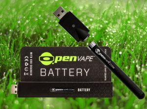 OpenVape – Battery Black   Batterie