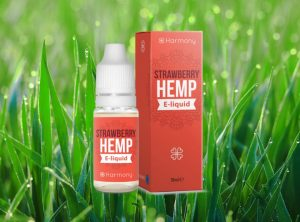 Harmony – Strawberry  <br>  CBD E-Liquid