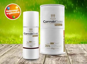 CannabiGold – Premium 15% | 10 g   CBD Öl, 1500 mg CBD