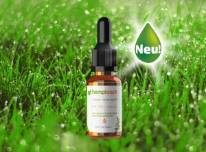 Hemptouch – Hemp Oil Amber 1000mg CBD | 10 ml <br> CBD Öl, 1000 mg CBD