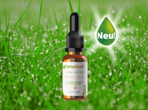 Hemptouch – Hemp Oil Amber 1500mg CBD | 10 ml <br>  CBD Öl, 1500 mg CBD
