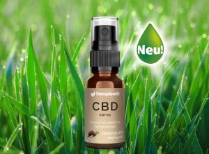 Hemptouch – CBD Spray Chocolate 300mg CBD | 10 ml  CBD Öl, 300 mg CBD