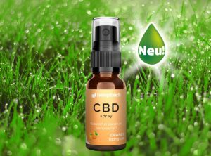 Hemptouch – CBD Spray Orange 300mg CBD | 10 ml  CBD Öl, 300 mg CBD