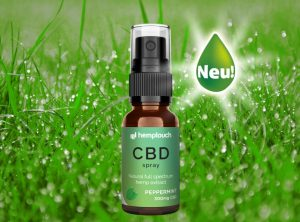 Hemptouch – CBD Spray Peppermint 300mg CBD | 10 ml  CBD Öl, 300 mg CBD