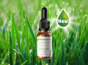 Hemptouch – Hemp Oil Amber 300mg CBD | 10 ml <br>  CBD Öl, 300 mg CBD
