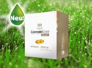 CannabiGold – Smart | 30 Stück <br> CBD Kapseln, 300 mg CBD