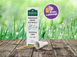Enecta – CBD Oil 10% | 10 ml  CBD Öl, 1000 mg CBD