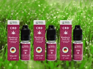 Breathe Organics – Blueberry Kush | 10 ml <br> CBD E-Liquid