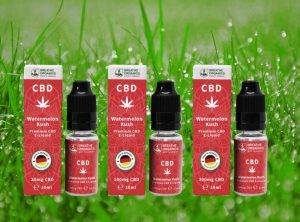 Breathe Organics – Watermelon Kush | 10 ml <br> CBD E-Liquid
