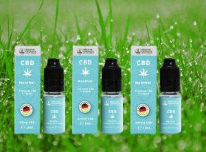 Breathe Organics – Menthol | 10 ml <br> CBD E-Liquid