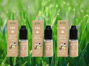 Breathe Organics – Vanille & Matcha Grüner Tee | 10 ml <br> CBD E-Liquid